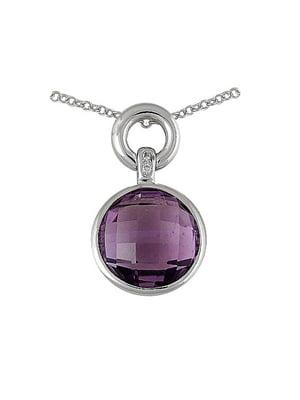 Кулон с бриллиантами | 4102264
