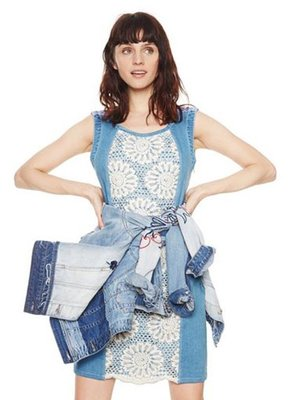 Платье голубое | 4081221