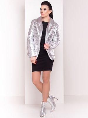 Куртка сріблястого кольору | 4104747