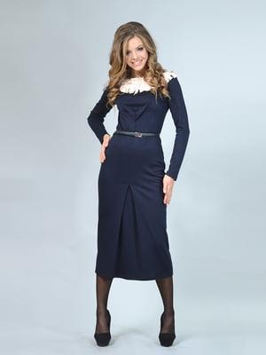 Платье темно-синее | 4103060