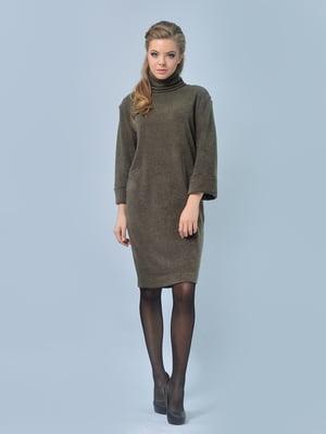 Платье оливкового цвета | 4103065