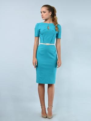 Платье бирюзовое   4103195
