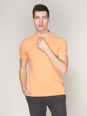Футболка-поло помаранчева | 4082700