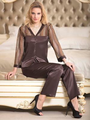 Комплект: блуза и брюки | 4112618