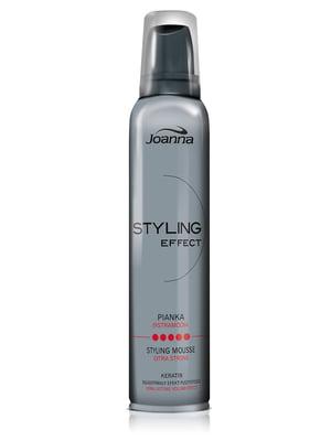 Пінка для укладання волосся надсильної фіксації Styling Effect (150 мл) | 1377955