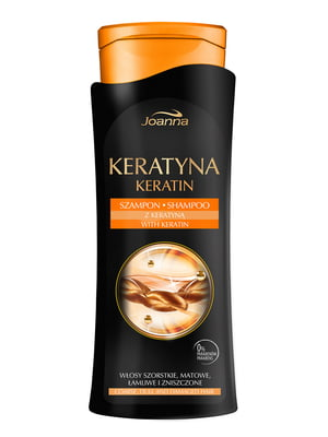 Шампунь для волосся з кератином (400 мл) | 1484112