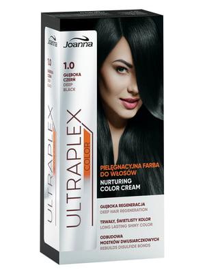 Краска для волос Ultraplex Color — оттенок 1.0 «Глубокий черный» | 4088267