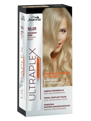 Краска для волос Ultraplex Color — оттенок 10.01 «Платиновый блонд» | 4088268