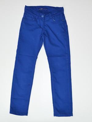 Брюки синие | 4079887