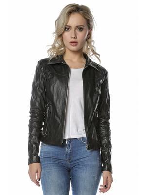 Куртка чорна | 4112638