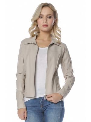 Куртка бежева - L.Y.N.N by Carla Ferreri - 4112640