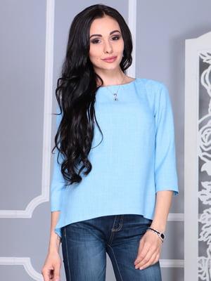 Блуза голубая | 4112909