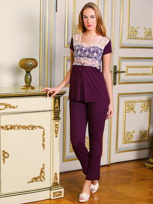 Комплект: блуза и брюки | 4112609