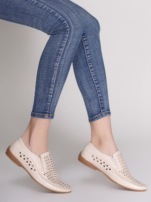 Туфли молочного цвета | 3647327