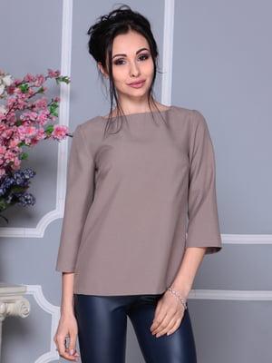 Блуза цвета мокко   4119041