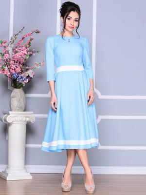 Сукня блакитна | 4119086