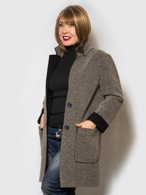 Пальто коричневое   4120205