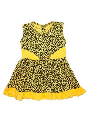 Платье анималистический расцветки   4124997