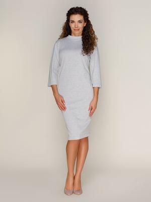 Платье светло-серое | 4090362