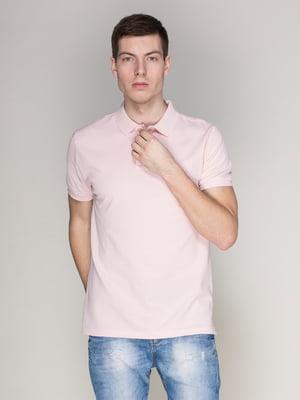 Футболка-поло рожева | 4113124