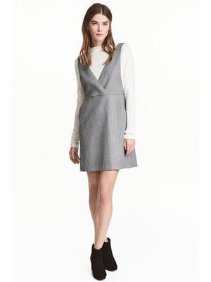 Платье серое | 4122558