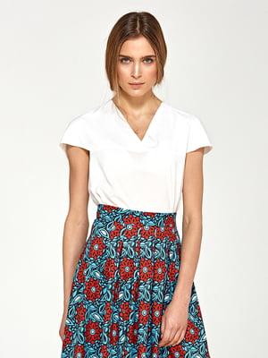 Блуза кольору екрю | 4127856