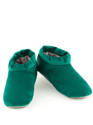 Тапочки смарагдового кольору   4127015