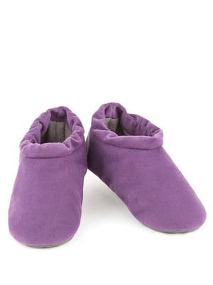 Тапочки фиолетовые | 4127018