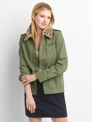 Куртка зелена | 4129056