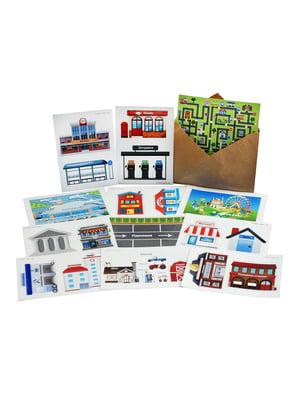 Комплект наклеек «Город» (английский язык) | 4128667