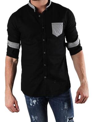 Рубашка черная | 4131138