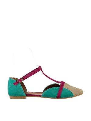 Туфли трехцветные | 4130599