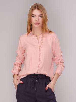Рубашка розовая | 4050986
