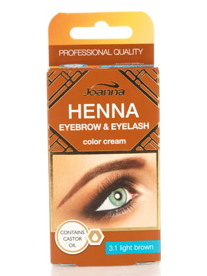 Фарба для брів і вій Henna — коричнева | 4088031