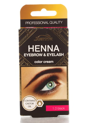 Краска для бровей и ресниц Henna — черная | 4088033