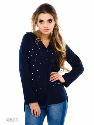 Рубашка синяя | 3977315