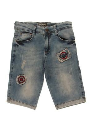 Шорти сині джинсові   4131618