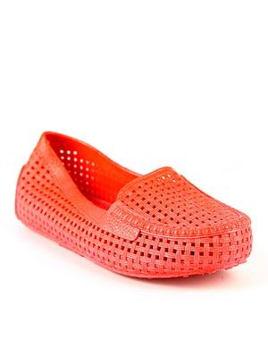 Балетки пляжные красные | 4090924