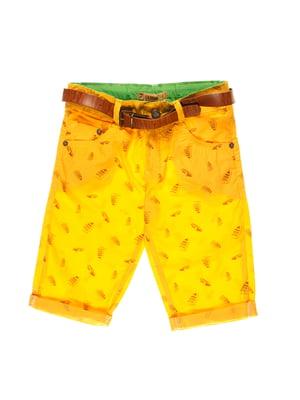 Шорты желтые   4131668