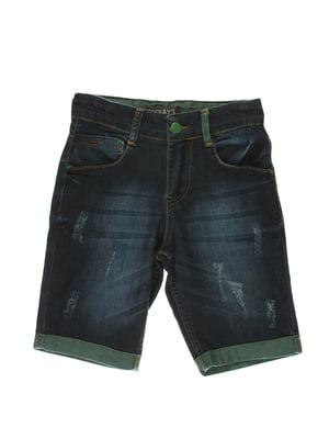 Шорти сині джинсові   4131679
