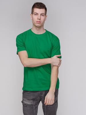 Футболка зеленая | 4137519