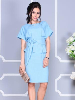 Сукня блакитна | 4137100