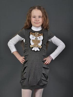 Сукня-туніка сіра | 4140692