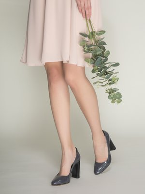 Туфли темно-серые   3241048