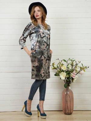 Платье серое | 4141262