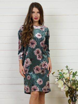 Платье в цветочный принт | 4141274