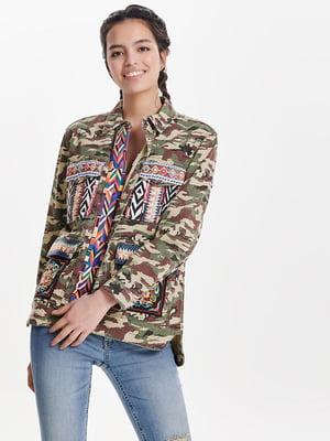 Куртка камуфляжного забарвлення | 4129972