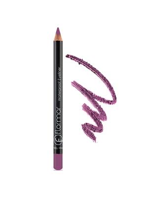 Олівець водостійкий для очей Deep purple — №117 (1,7 г) | 4142535