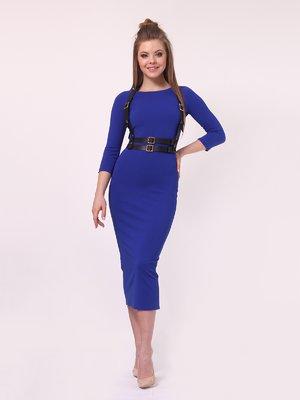Платье цвета электрик | 4142188