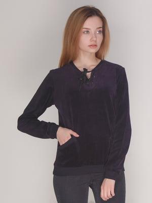 Джемпер темно-фиолетовый | 4137550
